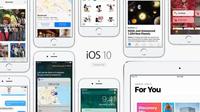 iOS10 intentará capturar la imaginación de los usuarios con dibujitos, y más. (APPLE).