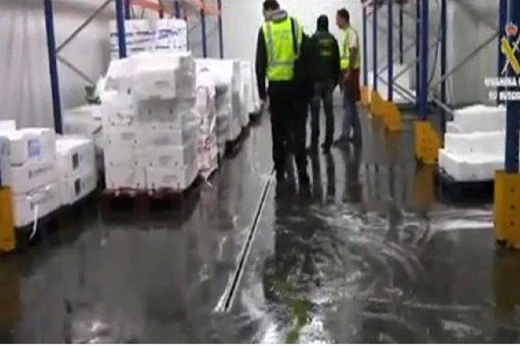 Agentes dfe Europol partcipan en la operación contra alimentarios falsificados.