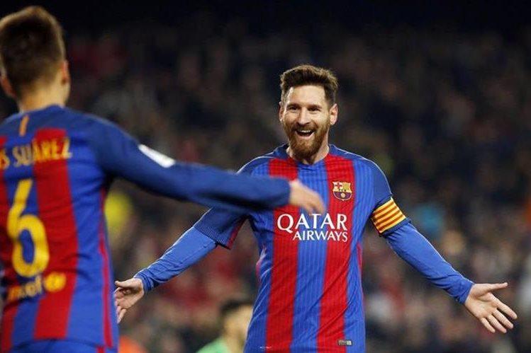 El Barcelona podría tomar el liderato de la Liga española. (Foto Prensa Libre: Twitter FC Barcelona)