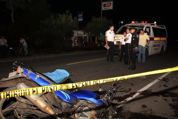 Resultado de imagen para Muere joven al chocar su motocicleta con un camión