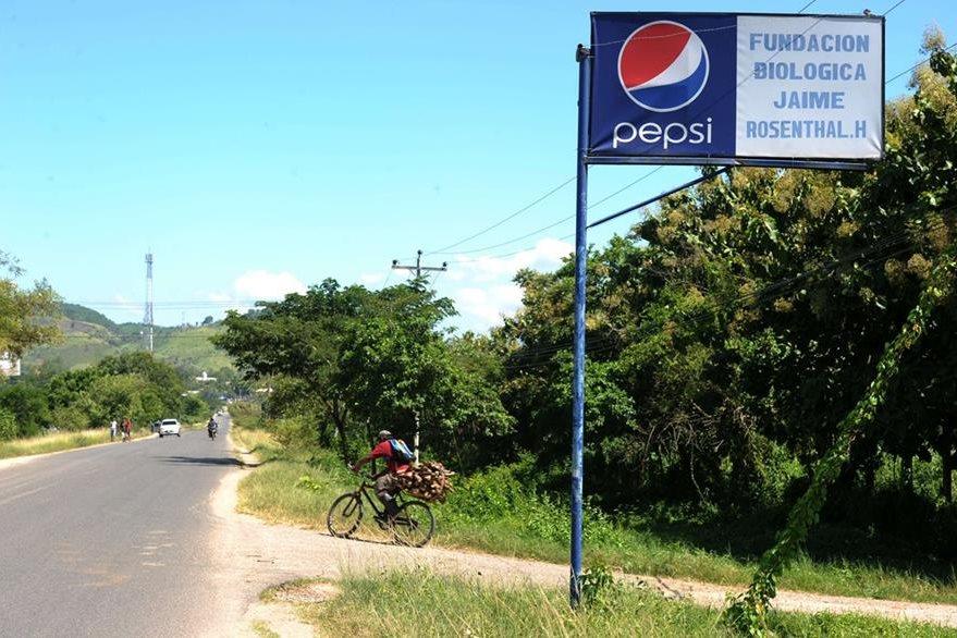 La reserva se ubica en el municipio de San Miguel departamento de Cortéz. (Foto Prensa Libre: AFP).
