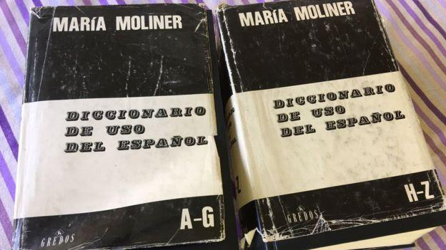 El Diccionario de uso del español tiene dos tomos y cuenta con 3.000 páginas en total. CLAUDIA PIÑEIRO