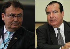 El magistrado, Giovanni Orellana, y el juez de Paz, Anthony Pivaral, serán investigados por supuestos actos de corrupción. (Foto Prensa Libre: Hemeroteca PL)