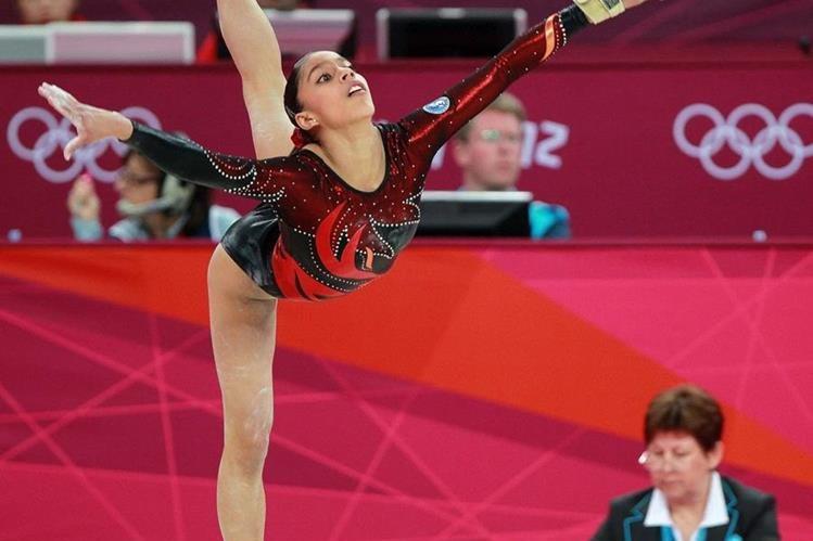 Ana Sofía Gómez, durante su participación en los Juegos Olímpicos de Londres 2012. (Foto Prensa Libre: Hemeroteca PL)