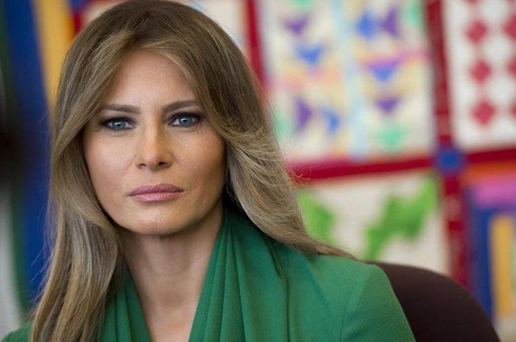 """Melania Trump hizo un llamado político para terminar con la práctica controvertida. La política de seguridad fronteriza de """"cero tolerancia"""". (AFP)."""
