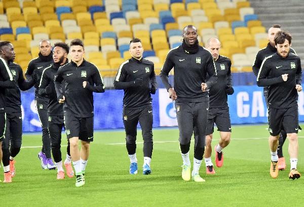 Los futbolistas del Manchester City están motivados. (Foto Prensa Libre: AFP)