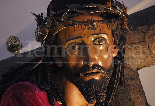 El Nazareno Josefino sale en procesión también el Domingo de Ramos. (Foto: Néstor Galicia)