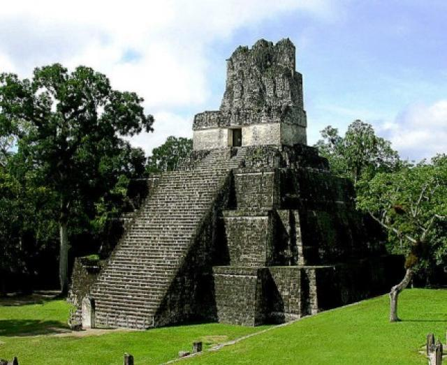 El Parque Nacional Tikal, en Petén, fue declarado Patrimonio de la Humanidad, por Unesco, en 1979. (Foto Prensa Libre: Hemeroteca PL)