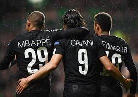 El equipo francés luce fuerte contra el Celtic