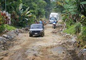 Para utilizar el tramo alterno se debe ingresar por El Palmarcito, San Felipe, Retalhuleu, y salir en El Palmar, Quetzaltenango. (Foto Prensa Libre: Rolando Miranda)