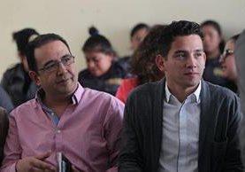 Samuel Morales y José Manuel Morales enfrentarán juicio por fraude. (Foto Prensa Libre: Hemeroteca PL)