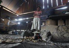 La pobreza en el país se disparó y llegó a 59.3%, un incremento de 8.1 puntos porcentuales con respecto del 2006. (Foto Prensa Libre: Hemeroteca PL)