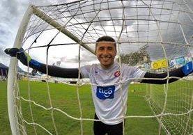 El portero Rodríguez buscará mantener el arco en cero en el juego del domingo frente a Antigua. (Foto cortesia: Xelajú MC)