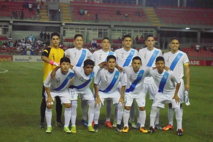 La Selección Nacional Sub 20 comparte el liderato con Honduras con 4 puntos después de 2 jornadas disputadas. (Foto Prensa Libre: ACD)