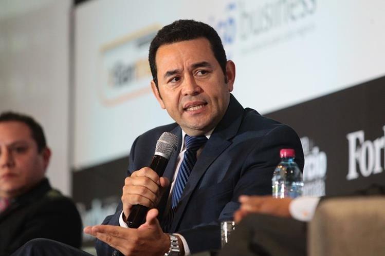 Macron y Morales profundizan las relaciones entre Francia y Guatemala