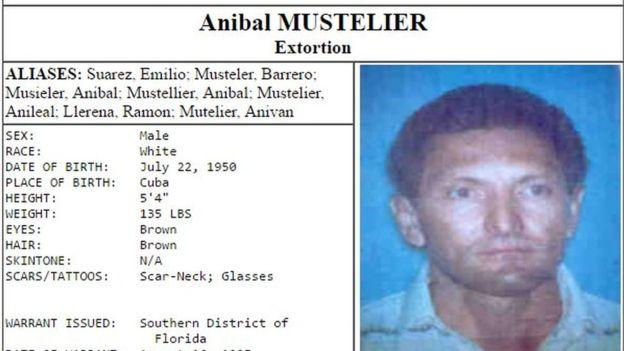 El FBI y el Cuerpo de Alguaciles de EE.UU. estaban tras los pasos de Mustelier, que usaba alias como Suárez, Barrero, Llerena, Ramón, entre otros. (CUERPO DE ALGUACILES DE EE. UU.)