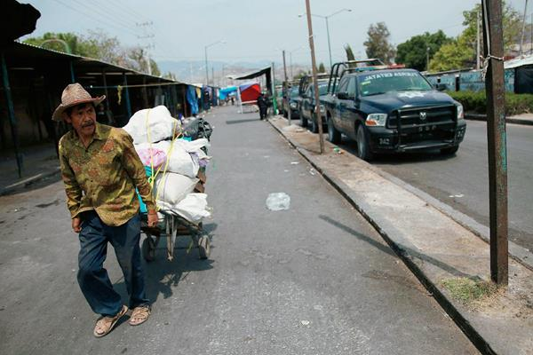 La violencia ha recrudecido en México en los últimos meses. (Foto Prensa Libre: EFE).