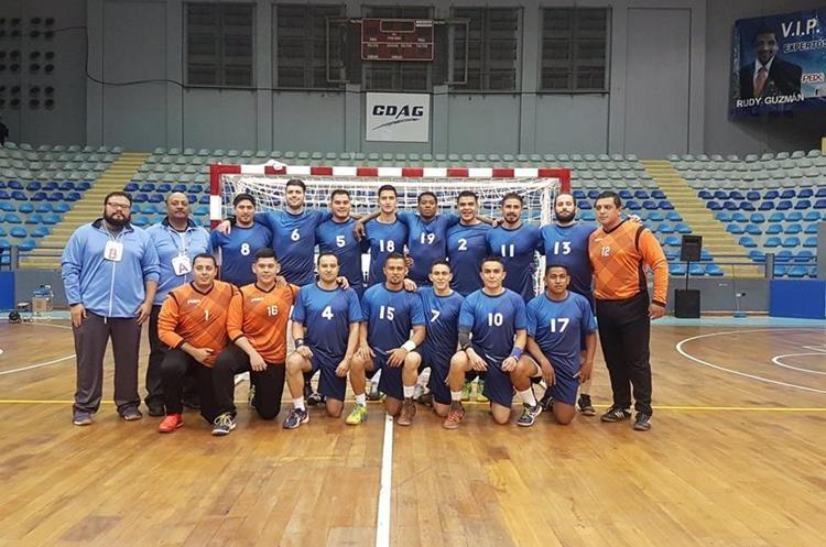 La Selección de Balonmano previo a su participación en la Copa ACD.