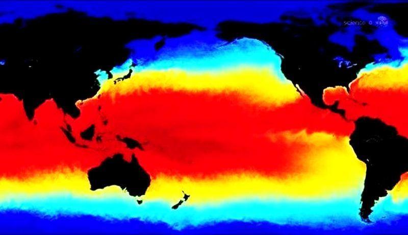 El Niño, es un calentamiento del océano Pacífico, en gran mayoría a lo largo del ecuador. Este fenómeno ocurre cada dos a siete años y su intensidad varía.