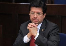 El magistrado Douglas Charchal no fue amparado por la Corte de Constitucionalidad. (Foto Prensa Libre: Estuardo Paredes)