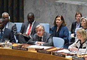 Guterres, dice que la ONU debe prestar atención a la prevención de conflictos.(EFE).
