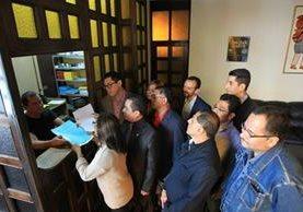 Los jueces presentaron dos acciones de inconstitucionalidad(Foto Prensa Libre: Esbin García)