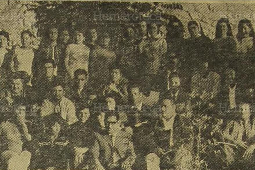 28/10/1978. Maestros asistentes al curso para maestros de sexto grado de todo el país, organizado por la Universidad del Valle. (Foto: Hemeroteca PL).
