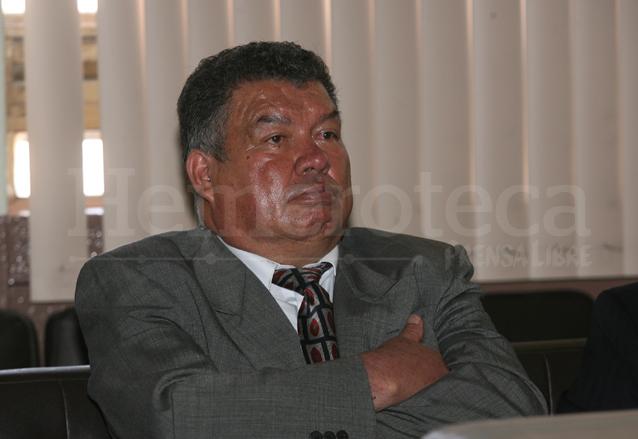 Alfredo Moreno Molina durante el juicio en su contra en 2009. (Foto: Hemeroteca PL)