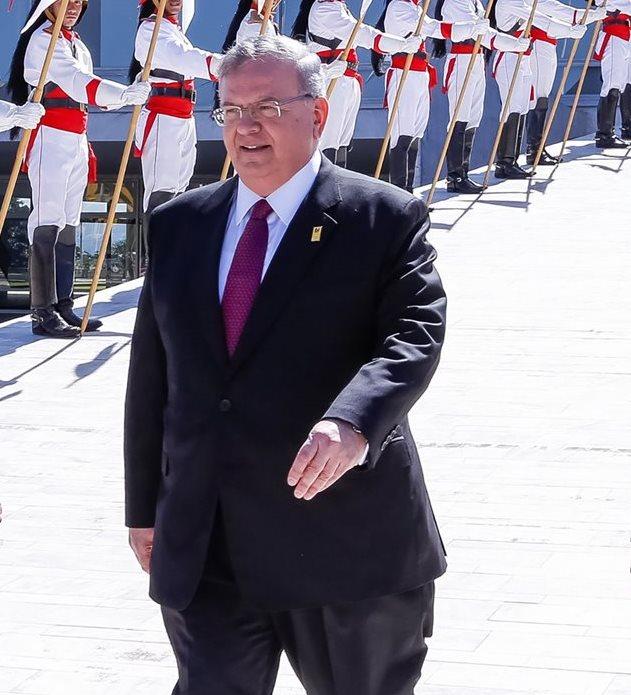 Kyriakos Amiridis, embajador griego en Brasil está desaparecido. (Foto Prensa Libre: AFP).