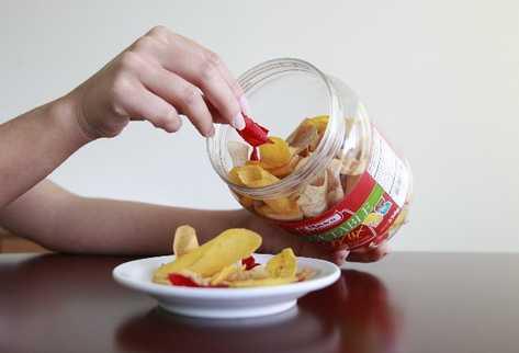 empresas nacionales compiten en el mercado mundial con productos —frutas y verduras— deshidratados.