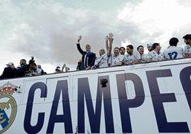 El Real Madrid conquistó la duodécima Copa de Europa.
