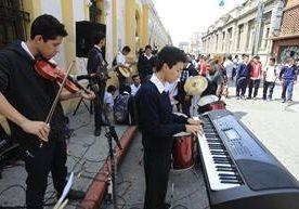 Alumnos del Instituto Central para Varones realizan jornada deportiva y cultural.