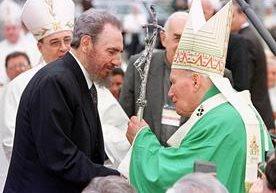 Juan Pablo Segundo y Benedicto XVI visitaron la isla, ahora lo hace el papa Francisco.