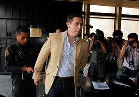 El Mayor de Infantería, Mynor Francisco Leonardo Cerón aceptó ser extraditado hacia Estados Unidos,<br /> donde se le señala por narcotráfico. (Foto Prensa Libre: Paulo Raquec)