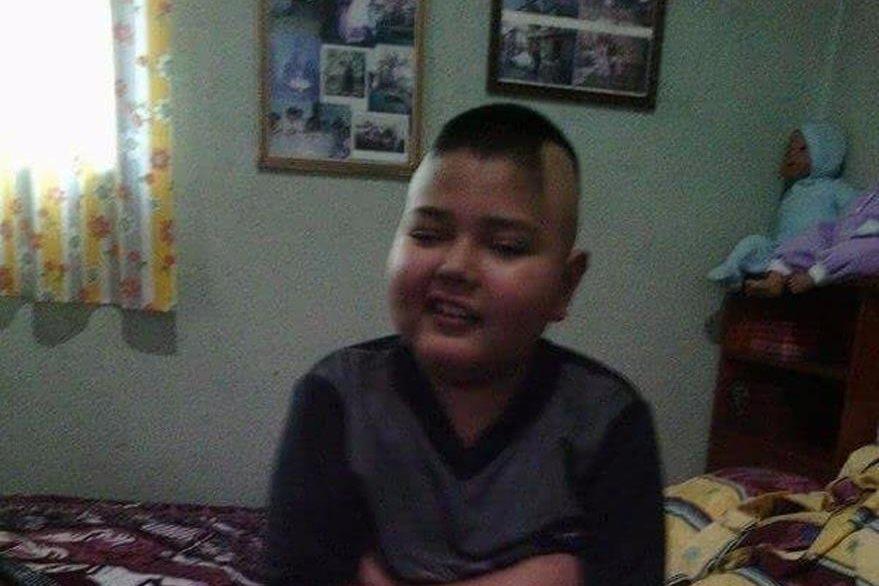La vida del menor ha cambiado a causa de la enfermedad. (Foto Prensa Libre: Cortesía).