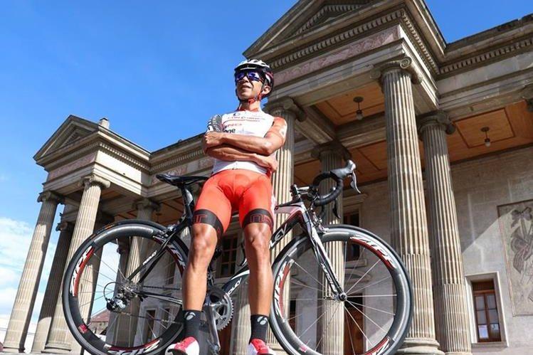 Marvin Escalante participará con el equipo Eurobikes-Hino,de Quetzaltenango. (Foto Prensa Libre: Raúl Juárez)