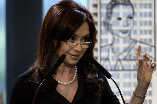 <p>La presidenta argentina Cristina Fernández. (AFP).<br></p>