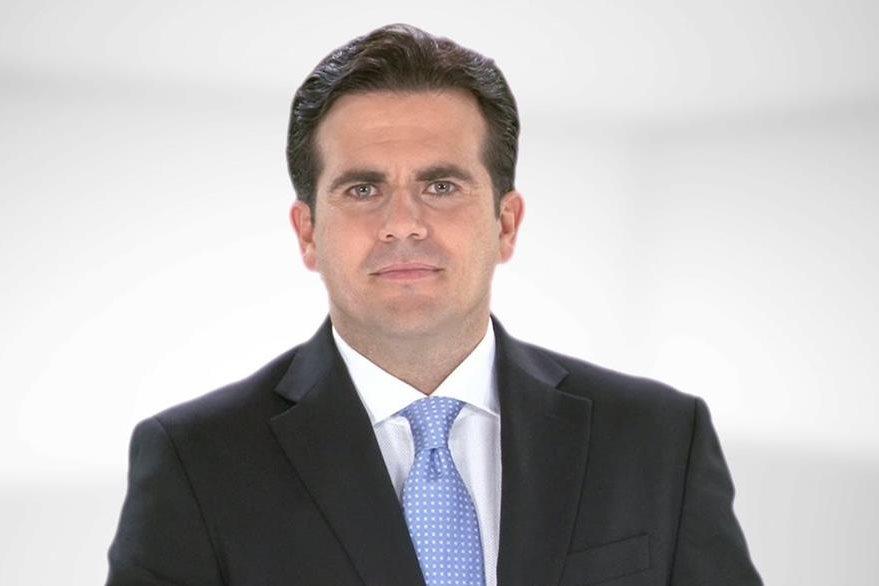Ricardo Roselló, gobernador de Puerto Rico. (Foto Prensa Libre: internet)