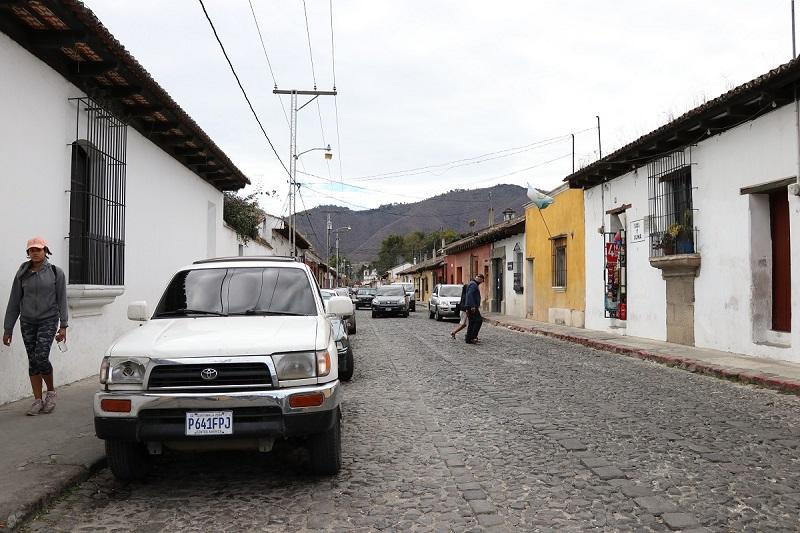 Colocarán cableado subterráneo en Antigua Guatemala