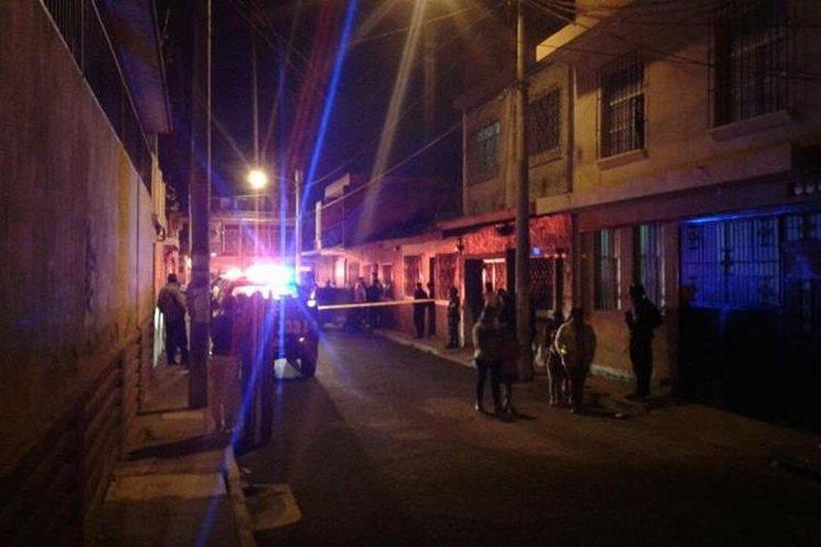 <p> El incidente ocurrió en la 28 avenida y 30 calle zona 5 capitalina. (Foto Prensa Libre: Cortesía)</p>