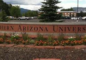 La Universidad del Norte del estado de Arizona, en el suroeste de Estados Unidos.
