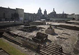Bajo la ciudad de México se encontraron túneles de la antigua Tenochtitlán. (Foto Prensa Libre: AFP)