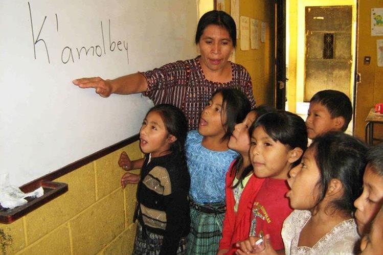 """Ministerio de Educación dice que unos 19 mil maestros están """"subutilizados"""". (Foto Prensa Libre: Hemeroteca PL)"""