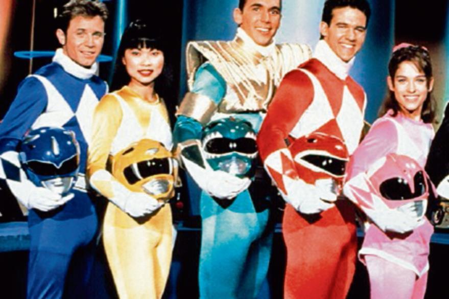 Antiguo elenco de Power Rangers. (Foto Prensa Libre: Hemeroteca PL)