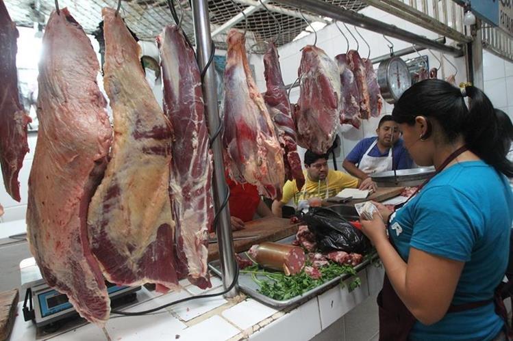 La carne de res registró incremento en junio.