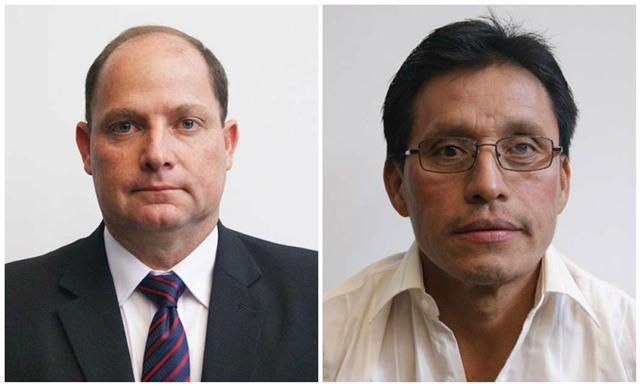 Los diputados Harmelín de León y Mario Velásques, son señalados de cometer delitos electorales. (Foto Prensa Libre: Hemeroteca PL)