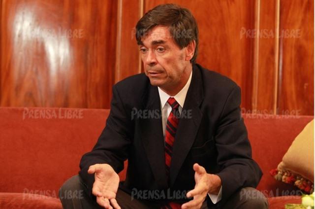 El empresario español Ángel Pérez-Maura accionó en España para que APM Terminal no colabore con el MP y la Cicig por el caso TCQ. (Foto Prensa Libre: Hemeroteca PL)
