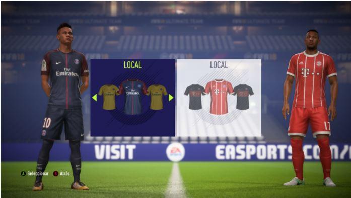 El lanzamiento oficial de este videojuego será el 29 de septiembre. (Foto Prensa Libre: EA Fifa 18)