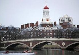 Campus central de la Universidad de Harvard, Cambridge, Massachusets. (Foto Prensa Libre: AP)