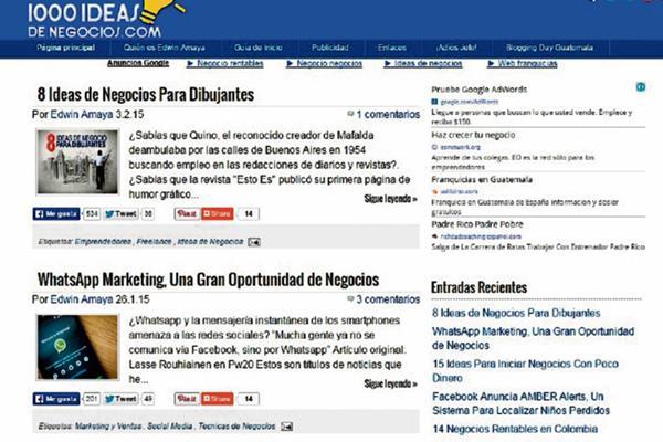 Sitios como www.1000ideasdenegocios.com dan herramientas para ...